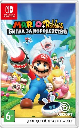 Mario + Rabbids Kingdom Battle (XCI) (2017) Switch » Скачать