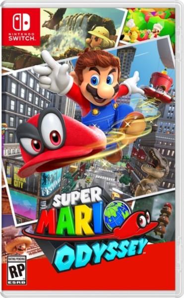 Super Mario Odyssey (XCI) (2018) Switch » Скачать игры