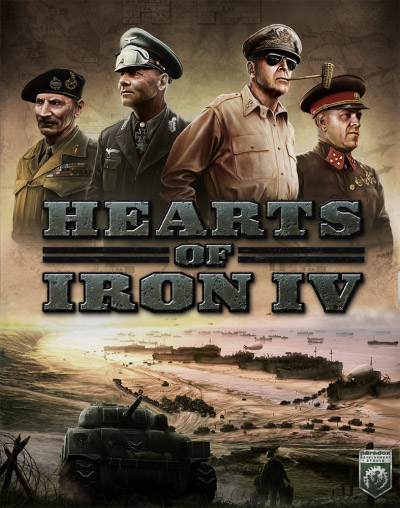 Hearts of Iron IV: Field Marshal Edition [v 1.9.0 + DLC's] (2016) PC | RePack от xatab