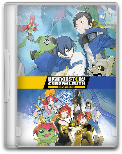 Digimon Story Cyber Sleuth: Complete Edition [v1.0] (2019) PC | Пиратка / Scene