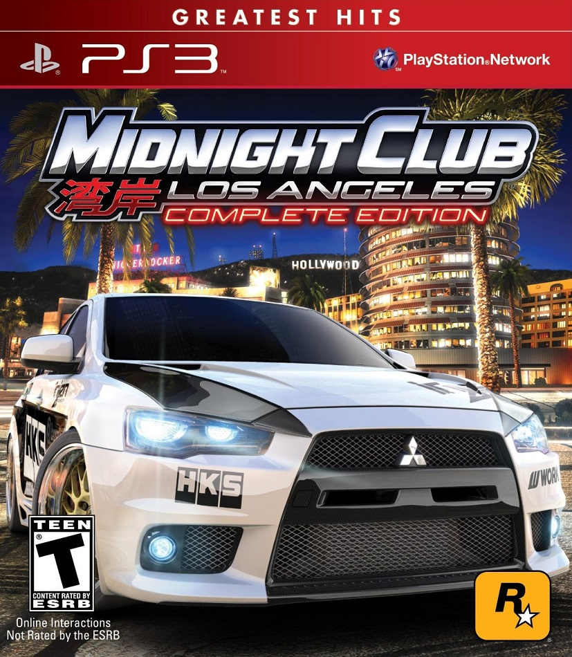 Midnight Club: Los Angeles - Complete Edition [ODE] [USA/ENG] (2009) PS3