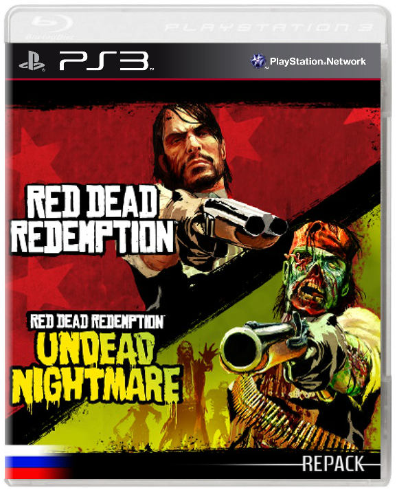 Red Dead Redemption [PSN] [+All DLC] [EUR] [RUS - ALLIANCE] (2010) PS3 | RePack by GOS